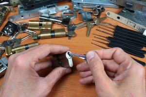 What does locksmith certification training cover?